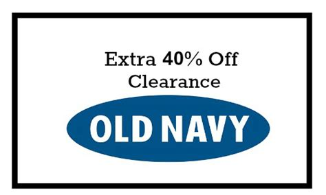 old navy coupons mobile 2015 40 off old navy clearance southern savers