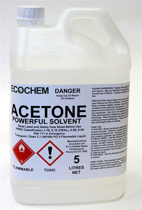 water free solvent upholstery cleaner acetone ecochem cleaning products