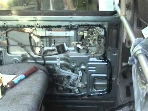 nissan vanette interior nissan vanette side slide door actuator mechanism