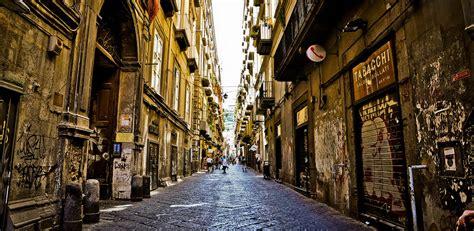 spaccanapoli naples historic main street italy travel