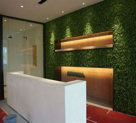 fake artificial grass wall decor  modern wall decor