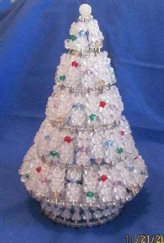 instructions for vintage safety pin christmas trees free beaded patterns tree pattern beaded safety pin tree