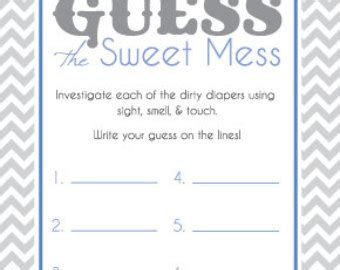 diaper template for baby shower game 6 best images of dirty diaper game printable baby shower