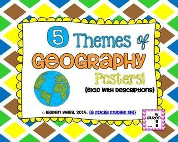 5 themes of geography jacksonville five themes of geography posters human environment