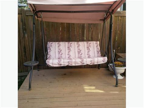 Patio Swing For Sale Winnipeg Patio Swing W Two Side Swing Tables For Sale Orleans Ottawa