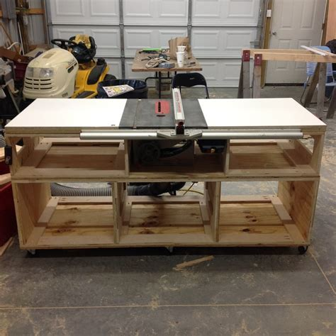 used cabinet table saw table saw cabinet base part 1 by matt lumberjocks