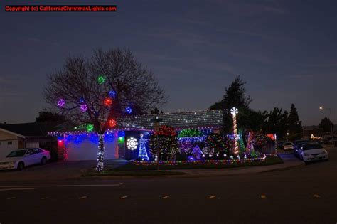 christmas lights freemont ca best lights and displays in fremont alameda county 94538