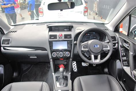 subaru forester 2016 interior 2016 subaru forester launched in expected in