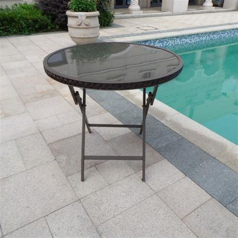 Backyard Creations Table Backyard Creations 174 Piazzo Folding Table At Menards 174