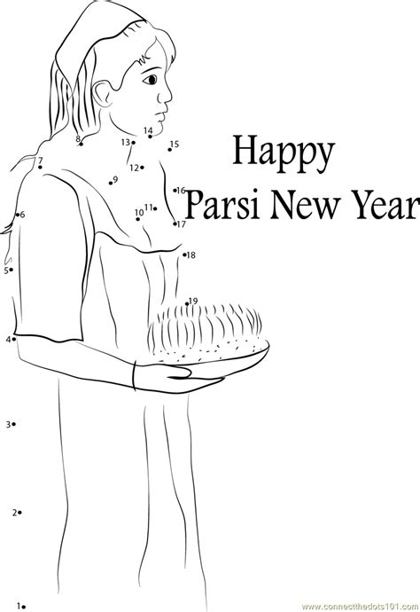 new year join the dots pakistan parsi new year dot to dot printable worksheet