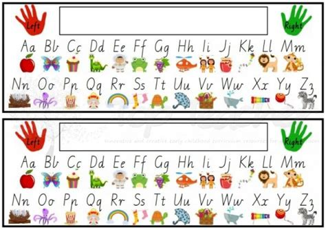 printable alphabet strip 6 best images of printable letter and number strip