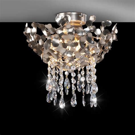 hochwertige leuchten hochwertige deckenleuchte blattsilber wohnlicht