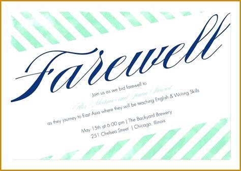 farewell certificate template 6 farewell invitation cards free fabtemplatez