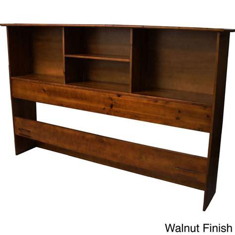 Scandinavia Solid Wood Bookcase Headboard