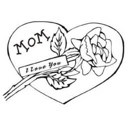 coloring pages that say i love you