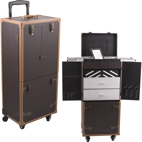 Makeup Drawers On Wheels Professional 4 Wheeled Makeup Artists Cosmetics Trolley