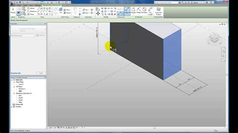 tutorial revit massing revit tutorials conceptual massing adding parameters