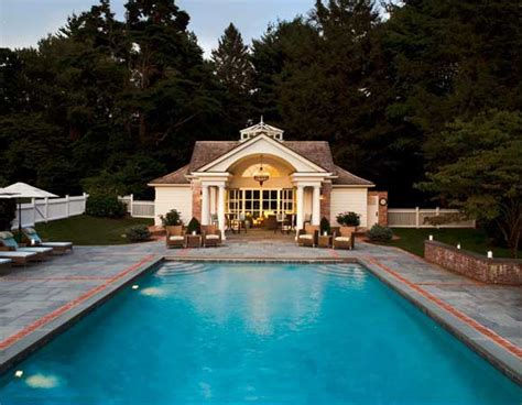 houses with pools swimmingly beautiful pool houses home design