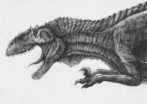 dinosaur sketch richard collingridge sketchbook