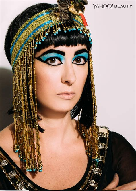 information on egyptain hairstlyes for and halloween beauty tutorial cleopatra the last pharaoh