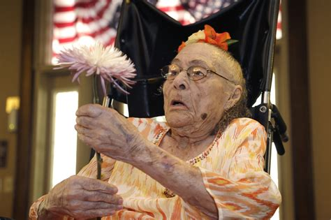 living person world s oldest person dies at 116 gertrude weaver had the