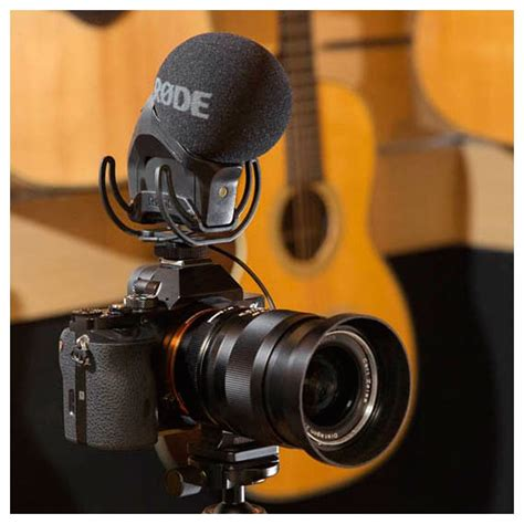 Murah Rode Videomic Pro With Rycote Lyre Suspension Mount rode stereo videomic pro with rycote lyre suspension at