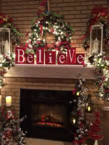 25 best ideas about christmas mantle decorations on