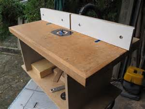 diy build router table top plans free