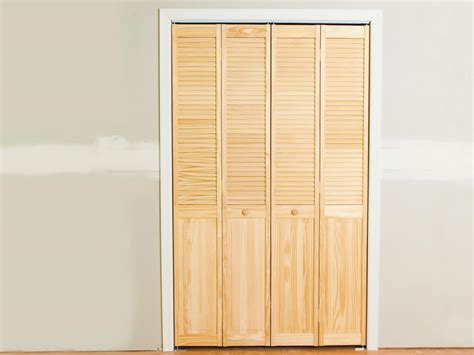 Install Bifold Closet Doors How Tos Diy Closet Doors Folding