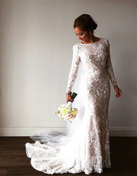 Pretty Wedding Dresses With Sleeves by Modest Wedding Dresses With Pretty Details Modwedding