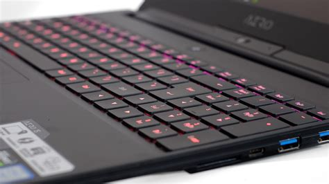 Keyboard Laptop Gigabyte gigabyte aero 15x v8 2018 review intel coffee lake and max q gaming tech advisor