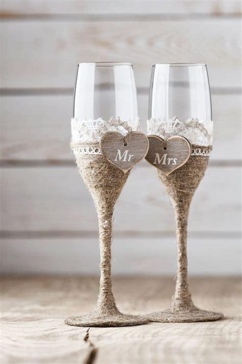 Wine Goblets by C 243 Mo Decorar Las Copas De Boda Bodas