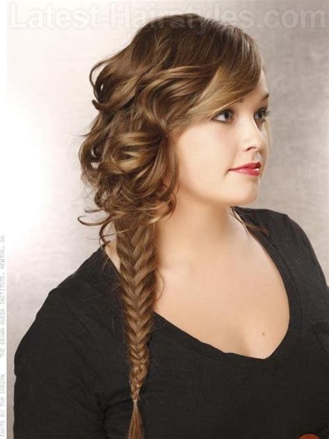 pinterest long curly fishbone tail picture with red curly hair 55 best images about teen hairstyles on pinterest curls