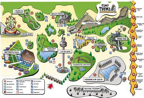 theme park creator free amusementpark map 点力图库
