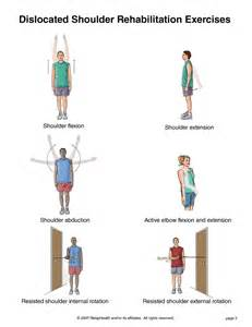 summit shoulder dislocation exercises