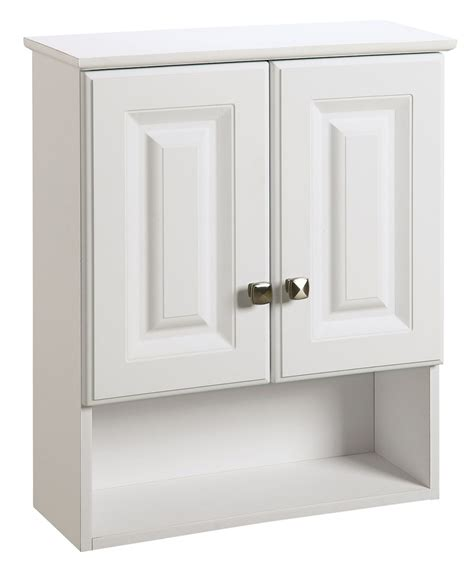 wyndham bathroom wall cabinet design house 531715 wyndham white semi gloss bathroom wall