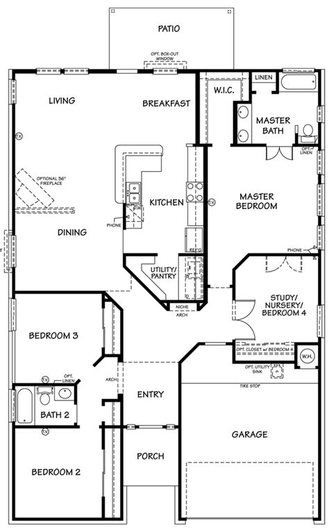 preston floor plan the preston floor plan killeen tx new homes for sale