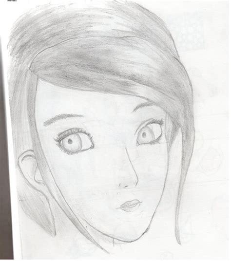 dibujos semi realistas dibujo semi realista chica by namicute on deviantart