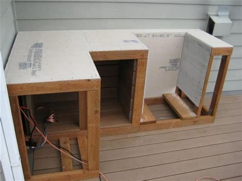 framing use cement board without plywood for outdoor