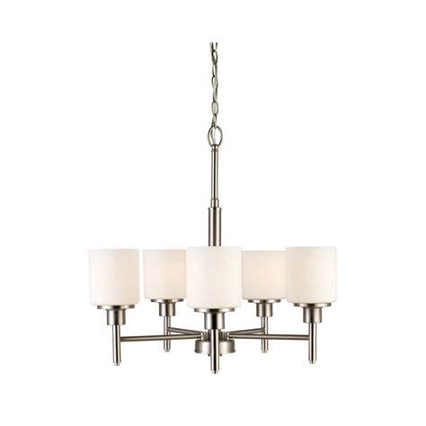 design house brand lighting design house 556639 5 light chandelier in satin