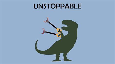 T Rex Meme Unstoppable - tyrannosaurus rex arms graphics simple background