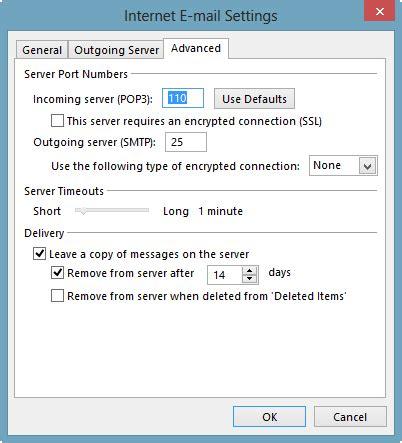 port smtp ssl email error code 0x800cc80