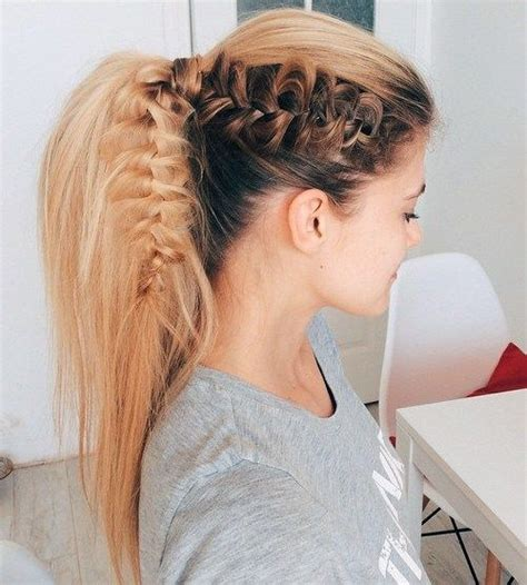 how to seeo pony tail with crown height creative high ponytail hairstyles that you never tried