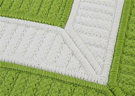 Bright Green Area Rugs by Colonial Mills Rope Walk Rectangular Bright Green Area Rug