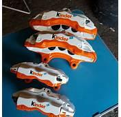 Brake Calipers Get Kinder Snack Custom Paint Look