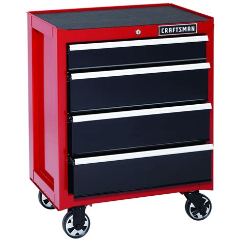 craftsman tool storage craftsman 26 in 4 heavy duty ball bearing rolling