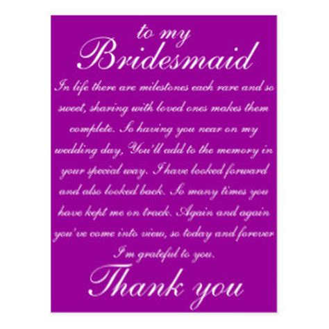 Thank You Letter Bridesmaids Wedding Thank You Postcards Wedding Thank You Post Cards