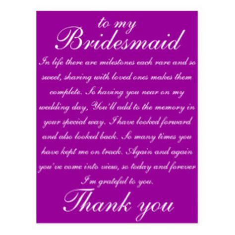 Thank You Letter Bridesmaids Wedding Thank You Postcards Wedding Thank You Post Cards