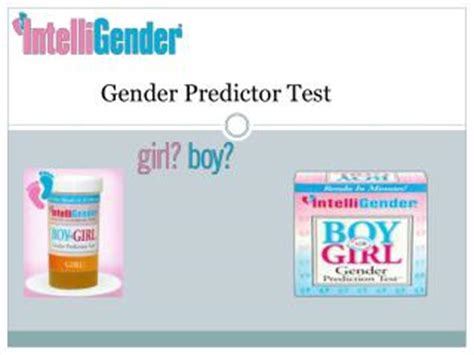 ppt a simple baby gender prediction test you can take at
