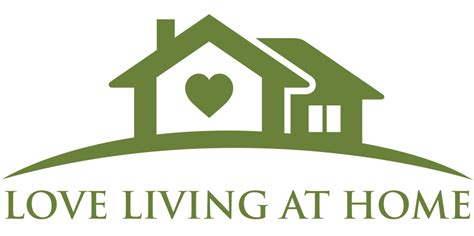 at home logo home love living at home